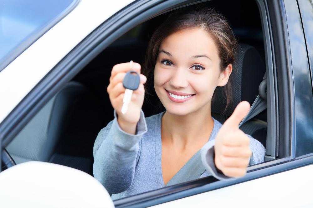 Wypożycz samochód - obraz
